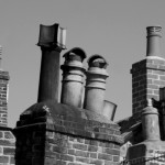 Old chimney stacks